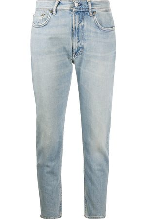 Acne Studios Cropped slim-fit jeans