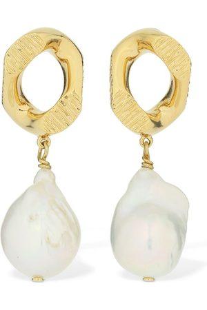 Burberry   Mujer Pendientes Con Perlas De Agua Dulce /perla Unique