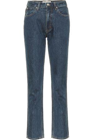 SLVRLAKE Jeans ajustados Virginia tiro alto
