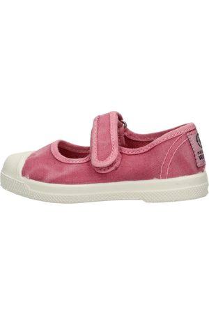 Natural World Niña Calzado casual - Zapatillas - Scarpa velcro rosa 476E-603 para niña