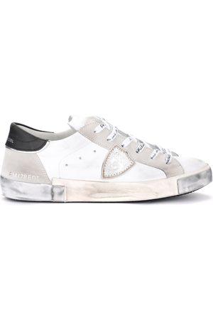 Philippe model Hombre Zapatillas deportivas - Deportivas Moda Sneaker Paris X in pelle e camoscio bianchi para hombre