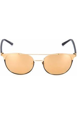Linda Farrow Gafas de sol de espejo