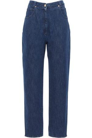 Patou | Mujer Jeans De Denim De Algodón Con Cintura Alta 34