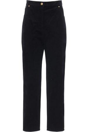 Patou | Mujer Pantalones De Pana De Algodón Con Cintura Alta 34