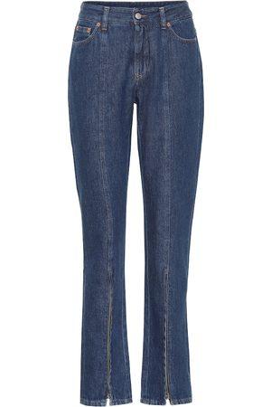 MM6 MAISON MARGIELA Jeans ajustados de tiro alto