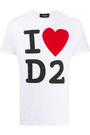 Dsquared2 Camiseta con estampado de eslogan