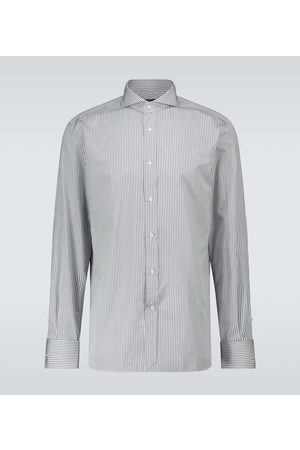 Ralph Lauren Camisa de ajuste recto de rayas