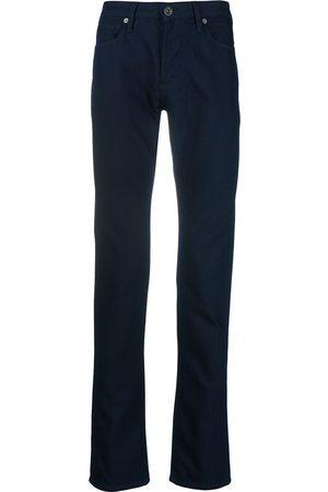 Emporio Armani Pantalones rectos con bolsillo cargo