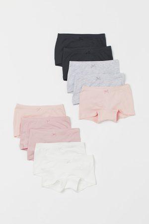 H&M Niña Lencería y Ropa interior - 10 bragas bóxer de algodón