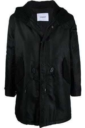 Dondup Drawstring-waist hooded coat