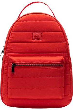 Herschel Nova Mid-Volume Quilted Backpack rojo