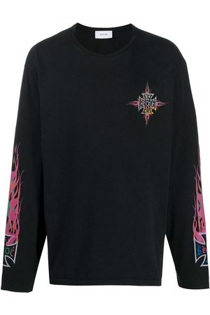 Rhude Logo print long-sleeved T-shirt