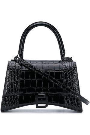 Balenciaga Bolso shopper Hourglass S con asa superior