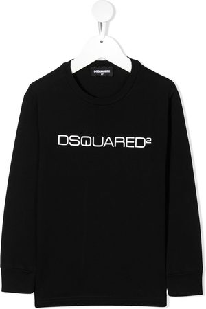 Dsquared2 Kids Logo print long-sleeve T-shirt