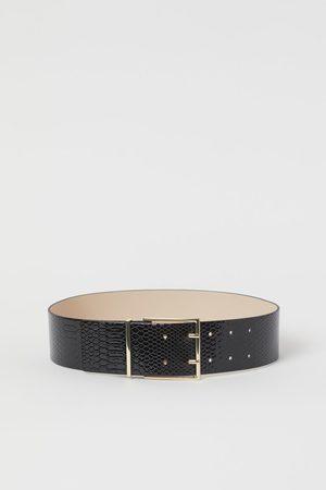 H&M Mujer Cinturones - Cinturón efecto piel serpiente