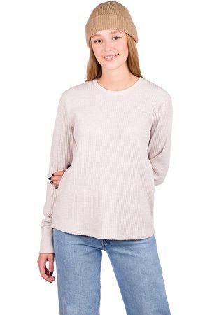 Kazane Brenda Long Sleeve T-Shirt marrón