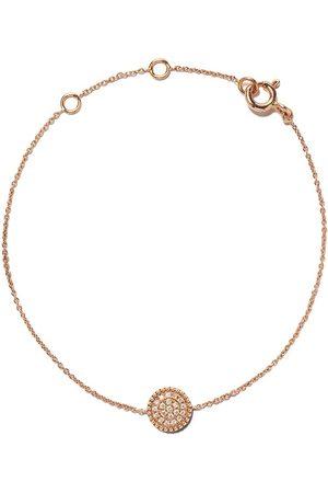 AS29 Pulsera Mye en oro rosa de 18kt con diamantes en pavé