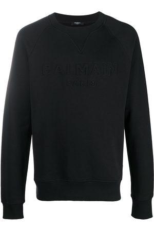 Balmain Logo embossed sweatshirt