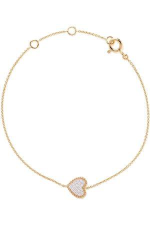 AS29 Mujer Pulseras - Pulsera Mye en oro amarillo de 18 kt con diamantes