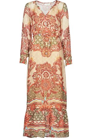 Cream Vestido largo SANNIE DRESS para mujer
