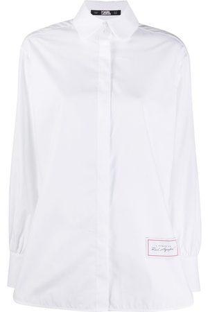 Karl Lagerfeld Camisa de popelina con manga larga
