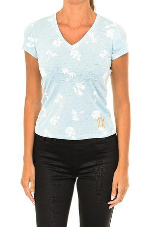 EAX Mujer Manga corta - Camiseta Camiseta manga corta para mujer