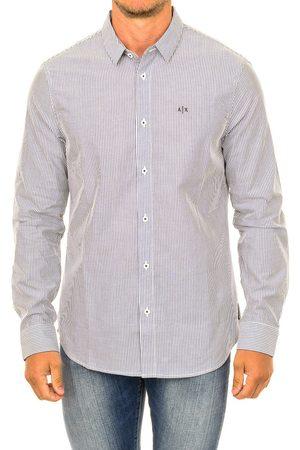 EAX Camisa manga larga Camisa hombre de manga larga para hombre