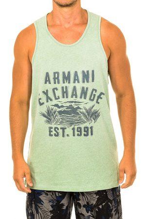 EAX Camiseta tirantes Camiseta sin mangas para hombre