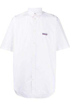 Balenciaga Camisa con logo bordado