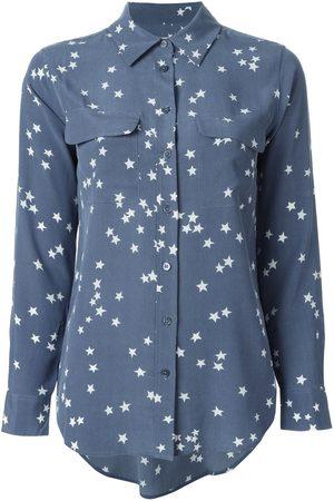 Equipment Camisa con estampado de estrellas