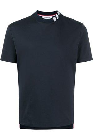 Thom Browne Camiseta con cuello alzado y 4-Bar