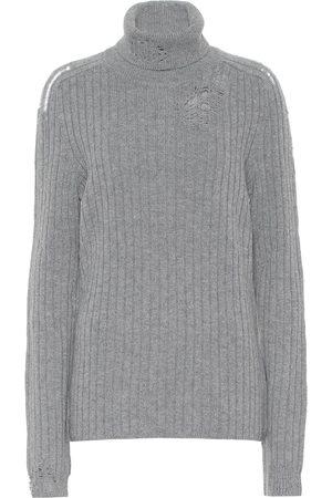 Maison Margiela Jersey de lana de cuello alto