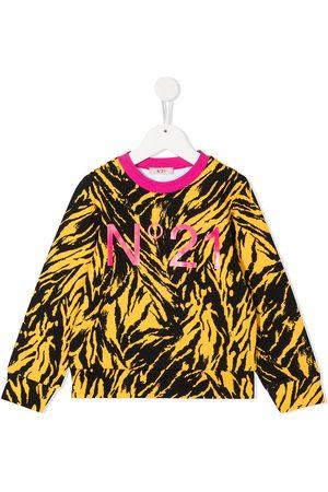 Nº21 Sudadera con estampado de tigre