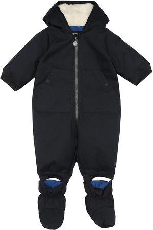 BONPOINT Bebé - mono de plumas con capucha