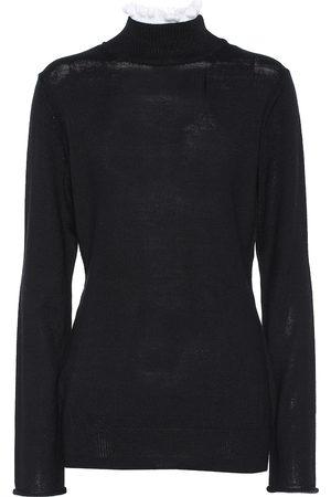 UNDERCOVER Jersey de lana de cuello alto