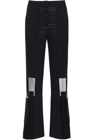 SACAI | Mujer Pantalones De Crepé Y Chifón 1