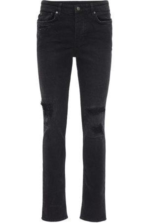 "KSUBI | Hombre Jeans Slim Fit ""boneyard"" De Denim De Algodón 9cm 33"