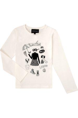 Emporio Armani Camiseta manga larga 6H3T01-3J2IZ-0101 para niña