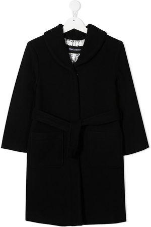 Dolce & Gabbana Abrigo con cintura lazada