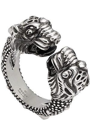 Gucci Anillo con cabeza de tigre