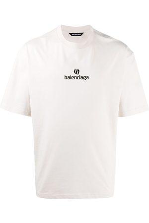Balenciaga Camiseta con logo bordado