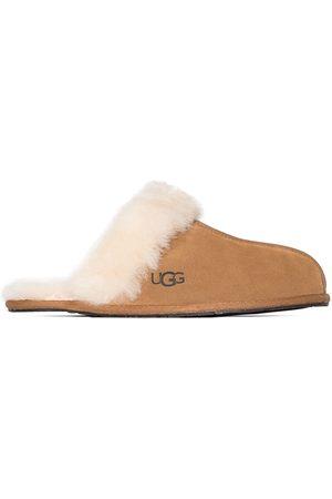 UGG Brown Scuffette II suede slippers