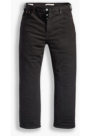 Levi's Ribcage Straight Ankle Jeans / Black Heart