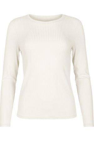 Lisca Blusa Disfruta de la camiseta manga larga Cheek para mujer