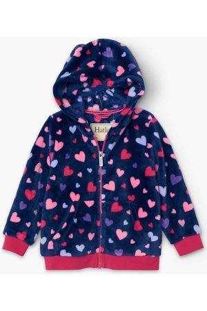 Hatley Polar Sudadera Polar Confetti Hearts CFK1551 para niña