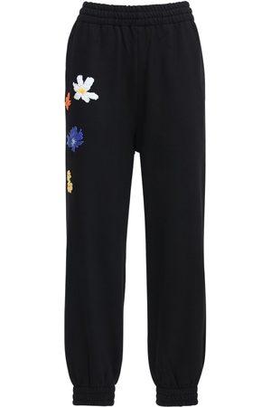 "McQ | Mujer Pantalones Deportivos ""genesis Ii Athena"" Florales Xxs"