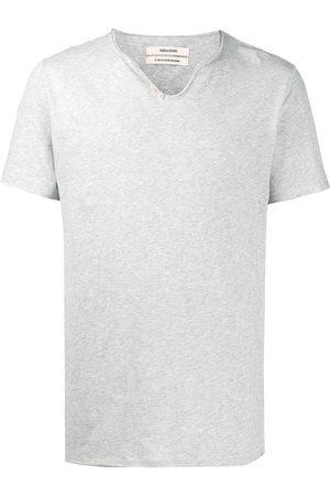 Zadig & Voltaire Camiseta Monastir con cuello henley