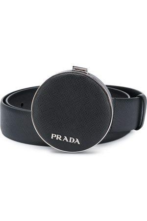 Prada Cinturón con detalle de bolso de mano