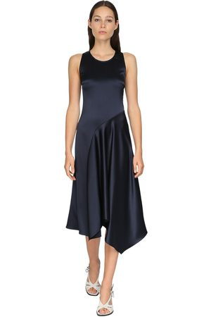 Sies marjan | Mujer Vestido Midi De Satén 2