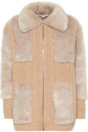 Stella McCartney Cárdigan de lana y pelo sintético